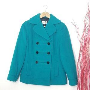 🆕️ Precis Petite High Quality Teal Wool Cashmere